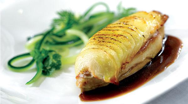 Foie gras comme une tarte aux pommes
